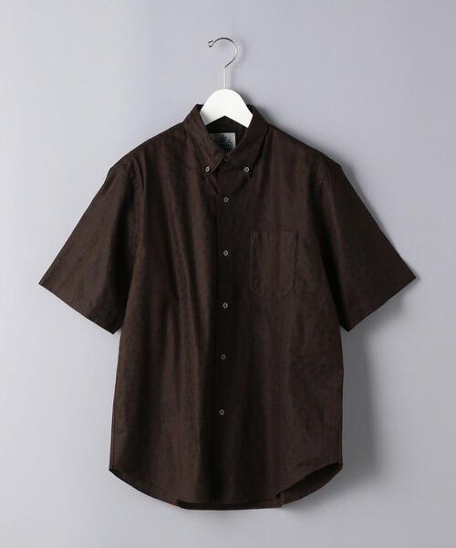 <IMPERIAL MEASURE(インペリアルメジャー)>UASP バティック ボタンダウンシャツ
