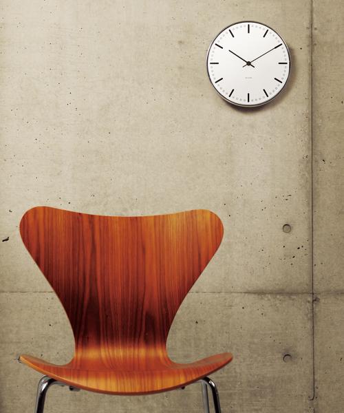 Arne Jacobsen / アルネ·ヤコブセン   Clock 43621(City Hall 160mm)
