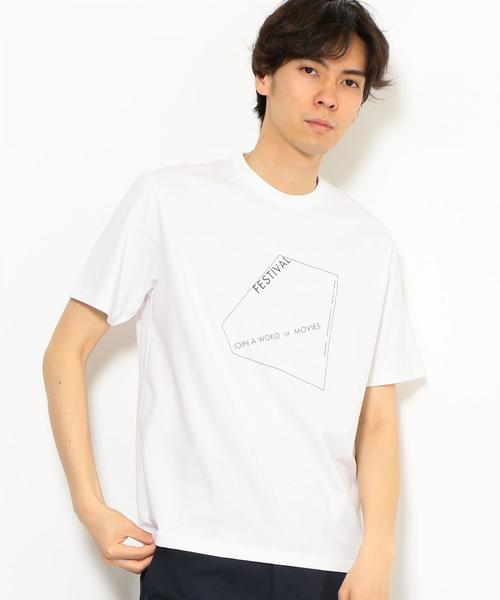 SC AND-RIDE FESTIVAL プリント Tシャツ