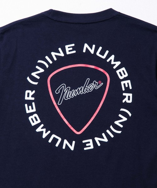 【NUMBER (N)INE】《WEB限定》サークルロゴバックプリントTee