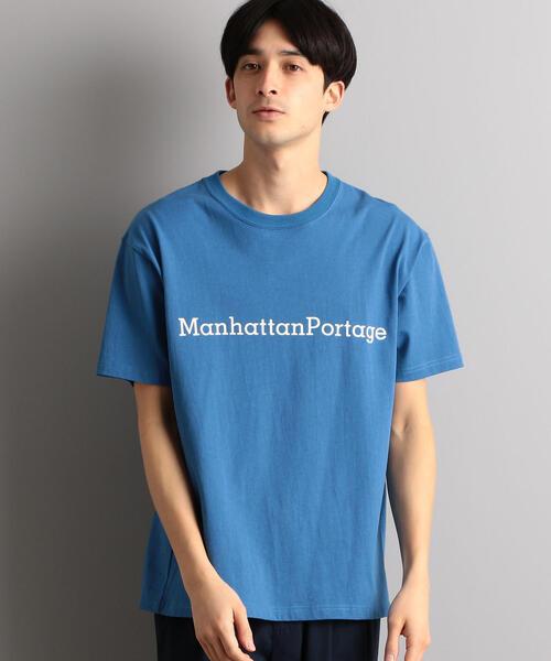 [マンハッタンポーテージ] Manhattan Portage USAコットン プリントTシャツ
