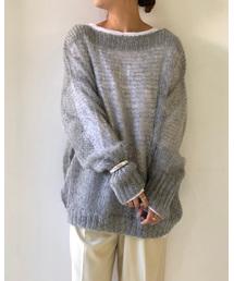 """TODAYFUL(トゥデイフル)のTODAYFUL(トゥデイフル) """"Mohair Lowgauge Knit""""モヘアローゲージニット/11920537(ニット/セーター)"""