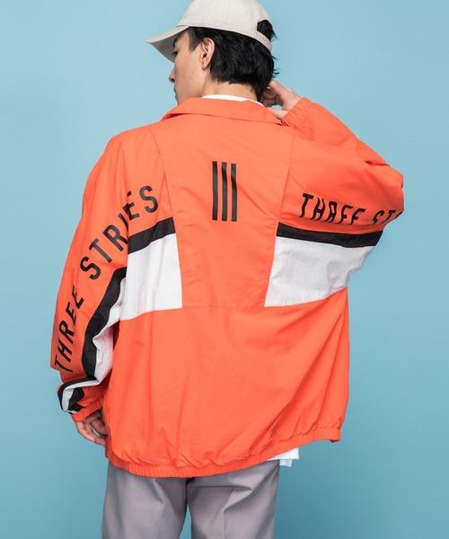 adidas(アディダス)の「マストハブ ジャケット [Must Haves Jacket] アディダス(ナイロンジャケット)」 レッド