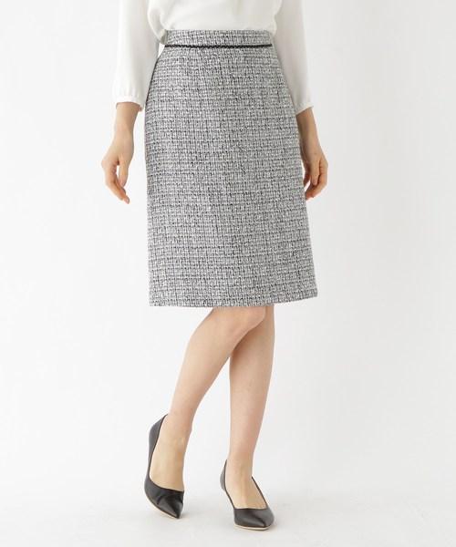 安い割引 [L]ツイードAラインスカート(スカート) INDIVI(インディヴィ)のファッション通販, 新治郡:f616f778 --- fahrservice-fischer.de