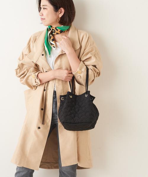 6dee1f87fc81 PAPILLONNER(パピヨネ)の【WEB限定】スターキルティング巾着バッグ(ショルダーバッグ