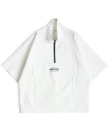 SHAREEF(シャリーフ)のMILAN RIB HALF-ZIP S/S(Tシャツ/カットソー)