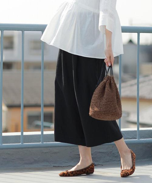 【WEB限定サイズ⇒XL】フレンチリネン8分丈パンツ