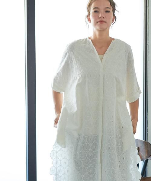 公式の  【セール ce】花カットワーク刺繍前アキワンピース(ワンピース)|pual ウィメンズ,pual ce ce cin(ピュアルセシン)のファッション通販, ソフィア ネットショップ:07d94676 --- 5613dcaibao.eu.org