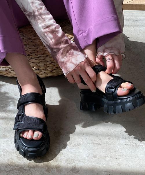 【chuclla】【2021/SS】Volume sole sandal sb-6 chs116