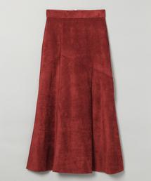 JEANASIS(ジーナシス)のヌバックライクキリカエスカート/856691(スカート)