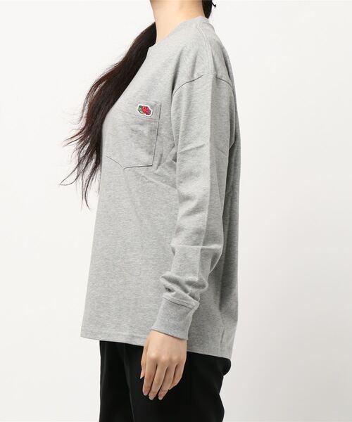 FRUIT OF THE LOOM(フルーツオブザルーム)の「米綿 ポケット付き L/S Tシャツ(Tシャツ/カットソー)」 詳細画像