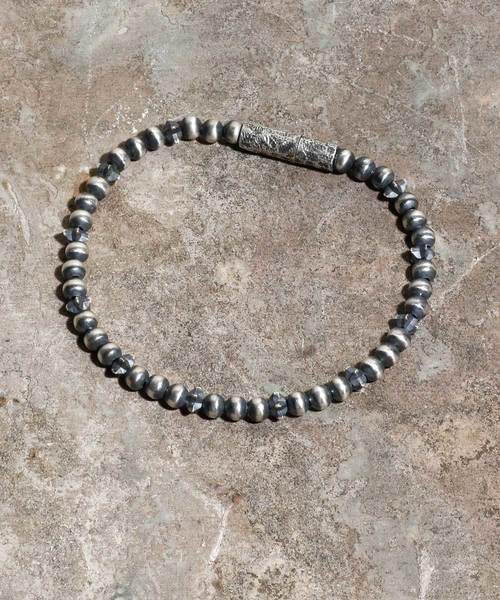 Magine(マージン)の「Star beads anklet(アンクレット)」|シルバー