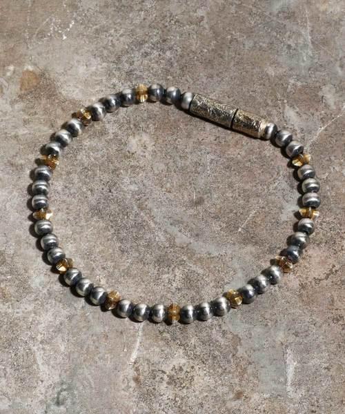 Magine(マージン)の「Star beads anklet(アンクレット)」|ゴールド