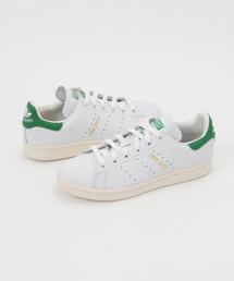 adidas Originals(アディダスオリジナルス)のadidas Originals / アディダス:STAN SMITH -ホワイト/グリーン-:スタンスミスレザースニーカー:S75074[DEA](スニーカー)