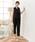 DRESS STAR(ドレス スター)の「セットアップドレス・結婚式ワンピース・お呼ばれパーティードレス(ドレス)」|ブラック
