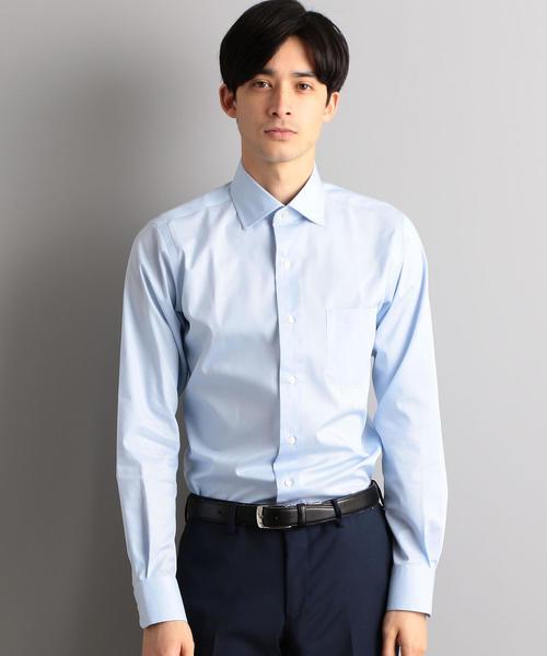 SLIM イージーアイロン COOL MAX ドビー SWD シャツ / ドレスシャツ