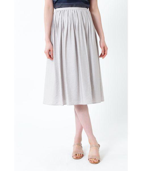 【18%OFF】 【セール】◆麻混ピンタックセットアップスカート(スカート) NATURAL BEAUTY(ナチュラルビューティー)のファッション通販, トミサトシ:d20fde81 --- bestbikeshots.de