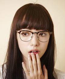 MEMENTISM(メメントイズム)のME-09W ブロウタイプメガネ 眼鏡 伊達メガネ だて眼鏡(メガネ)