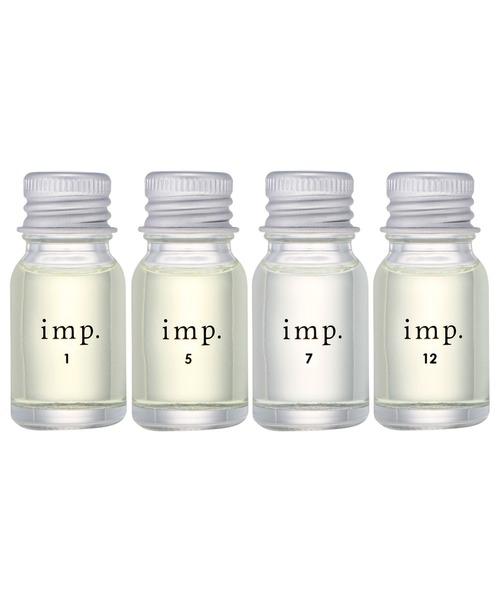 imp. CITRUS COLLECTION インプ シトラスコレクション コフレセット 10mL×4(シアーコットン、シトラスレモン、ハーバルミント、マンダリンジンジャー)