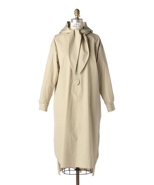 Drawer別注〈Scye(サイ)〉 SHIRT DRESS