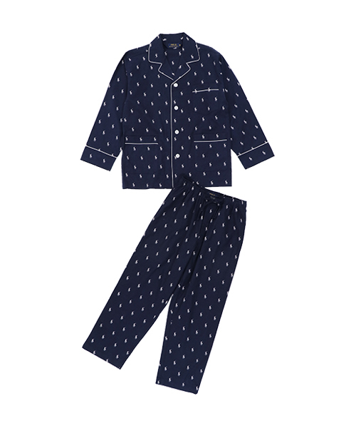 polo ralph lauren all over pp l s パジャマ ルームウェア パジャマ