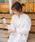 select MOCA(セレクトモカ)の「ハリ感のあるコットン素材◆コクーンシルエットバッククロスキャンディースリーブ長袖ロングシャツワンピース(シャツワンピース)」|詳細画像