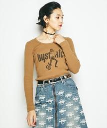 CRASH プリント Tシャツ