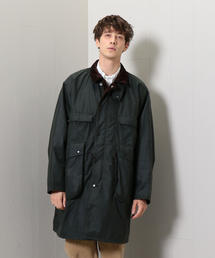<KAPTAIN SUNSHINE × Barbour>STAND COLLAR TRAVELLER COAT/コート.