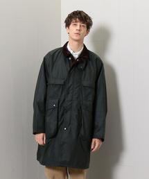 <KAPTAIN SUNSHINE × Barbour>STAND COLLAR TRAVELLER COAT/コート.