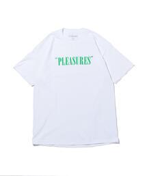 <PLEASURES> BALANCE LOGO T/Tシャツ
