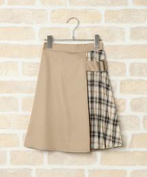 ikka(イッカ)の【キッズ】プリーツ切り替えスカート(120~160cm)(スカート)