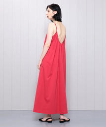<H>GATHER CAMISOLE DRESS/ワンピース