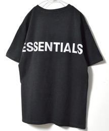 FOG ESSENTIALS(エフオージーエッセンシャルズ)のESSENTIALS/エッセンシャル ビックシルエット バックロゴリフレクタープリント半袖Tシャツ(Tシャツ/カットソー)