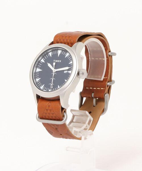 TIMEX(タイメックス)の「【TIMEX/タイメックス】Keone Nunes コラボレーション 40MM(アナログ腕時計)」|ブラウン