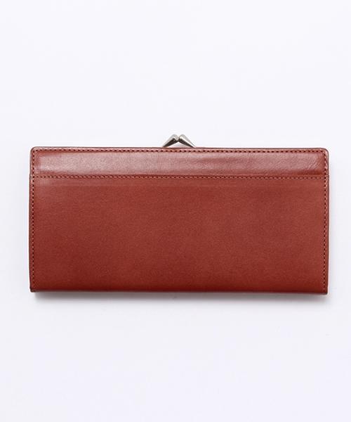 MARGARET HOWELL idea(マーガレット・ハウエルアイデア)の「オークランド マーガレット・ハウエル アイデア 口金つき長財布(財布)」|レッド