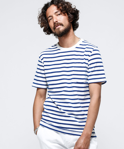 nano・universe(ナノユニバース)の「ショートリングパイルTシャツ SS(Tシャツ/カットソー)」|その他3