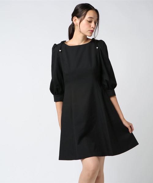 見事な創造力 パール Black dress(ワンピース) Black|MILK(ミルク)のファッション通販, 中田町:fa121916 --- fahrservice-fischer.de