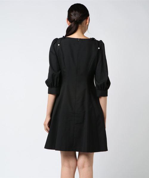 パール Black dress