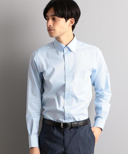 SLIM イージーアイロン COOL MAX ギンガムチェック  SBD シャツ / ドレスシャツ