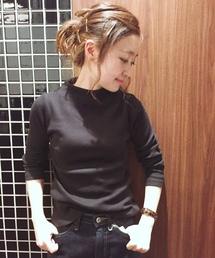 PAGEBOY(ページボーイ)のリブテレコボトルPO(Tシャツ/カットソー)