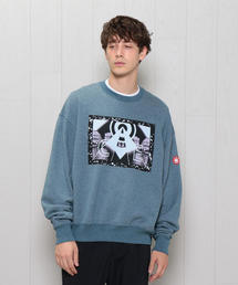<C.E>CIRCLE OF LIGHT CREW NECK/スウェット.