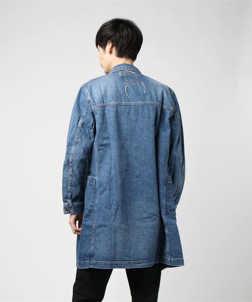 KURO / クロ / デニムコート / MONTE DENIM COAT HERITAGE WASH 01