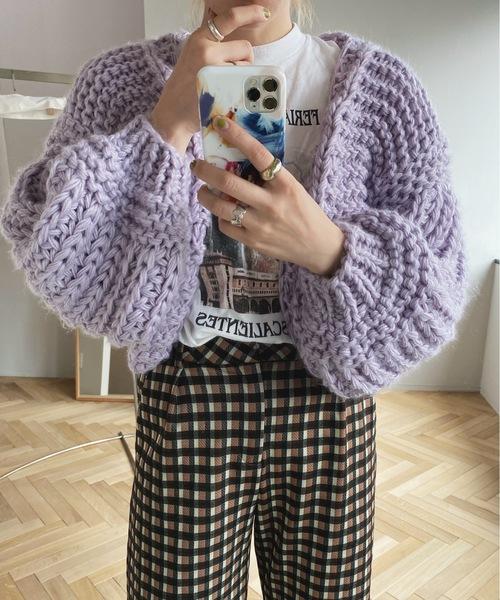【SANSeLF】Se hand knit bolero sanw2