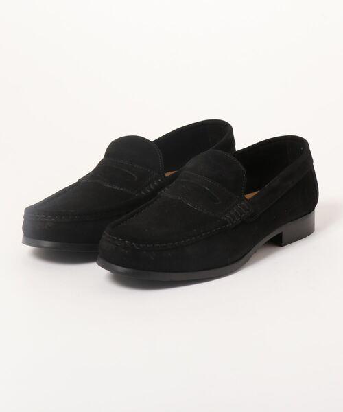 *アラウンドザシューズ/around the shoes MADE IN ITALY スエードローファー