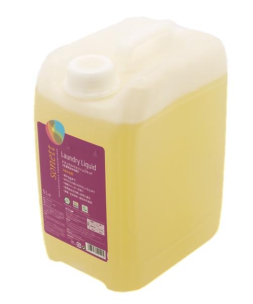 SONETT / ナチュラル ウォッシュリキッド 5L (洗濯用液体洗剤)