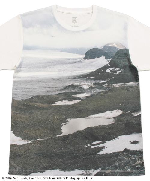 コラボレーションTシャツ/津田直(氷河)