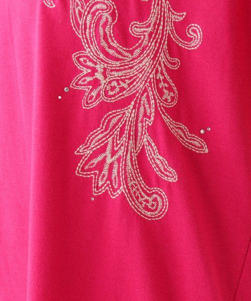 刺繍ビジュープルオーバー