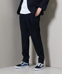 <H>TWILL 1P TAPERED PANTS/パンツ