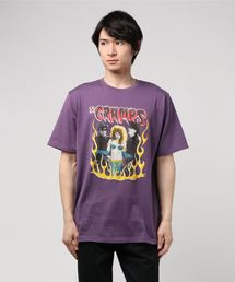 THE CRAMPS/TEENAGE PSYCHO pt Tシャツ