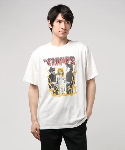 THE CRAMPS/TEENAGE PSYCHO pt Tシャツ
